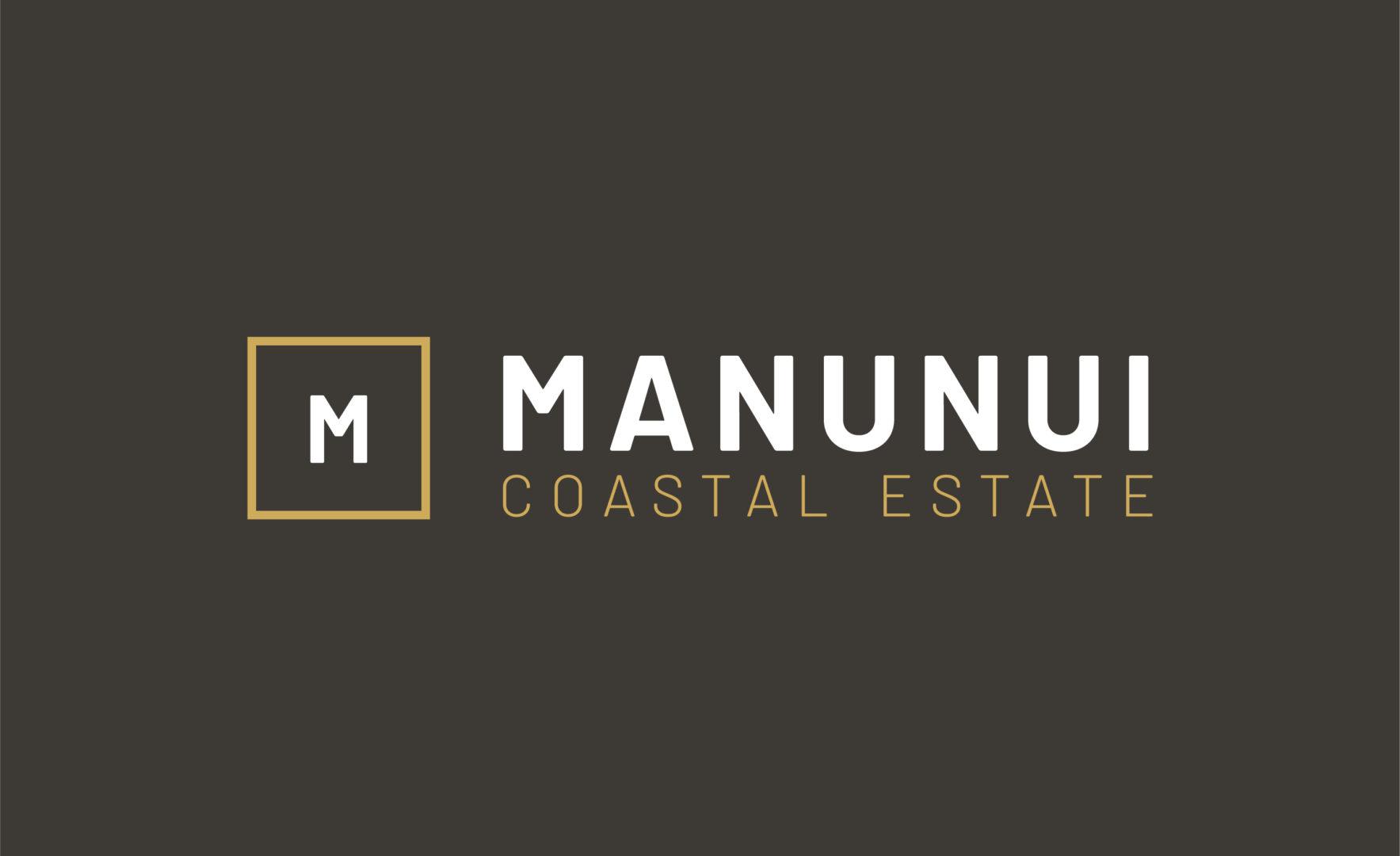 Manunui Coastal Estate logo