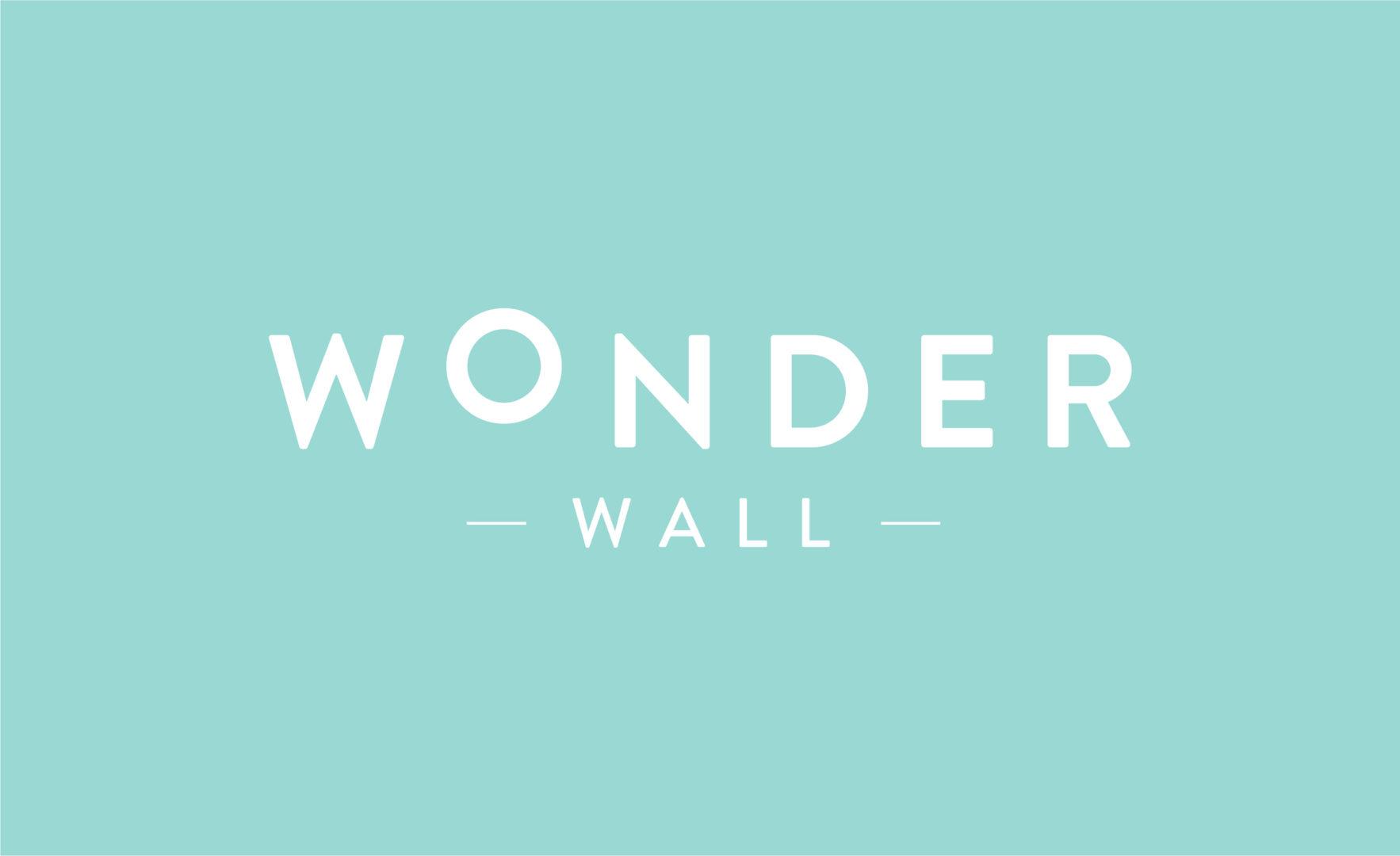 Wonder Wall typography font logo